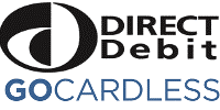 gocardless direct debit logo